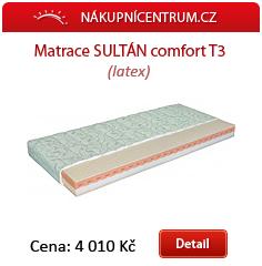 Matrace Sultán comfort T3
