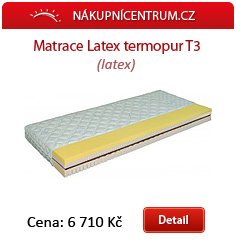 Matrace latex Termopur t3