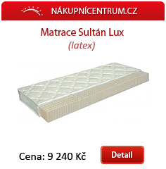 Matrace Sultán lux