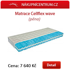 Matrace Cellflex wave